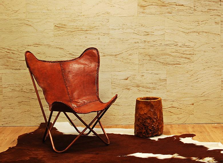 Flexibilný pieskovec, obklad interiéru, ohybný obklad, prírodný ohybný pieskovec, pieskovcová tapeta, obklad stien,